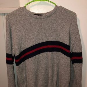 grey sweater from brandy melville